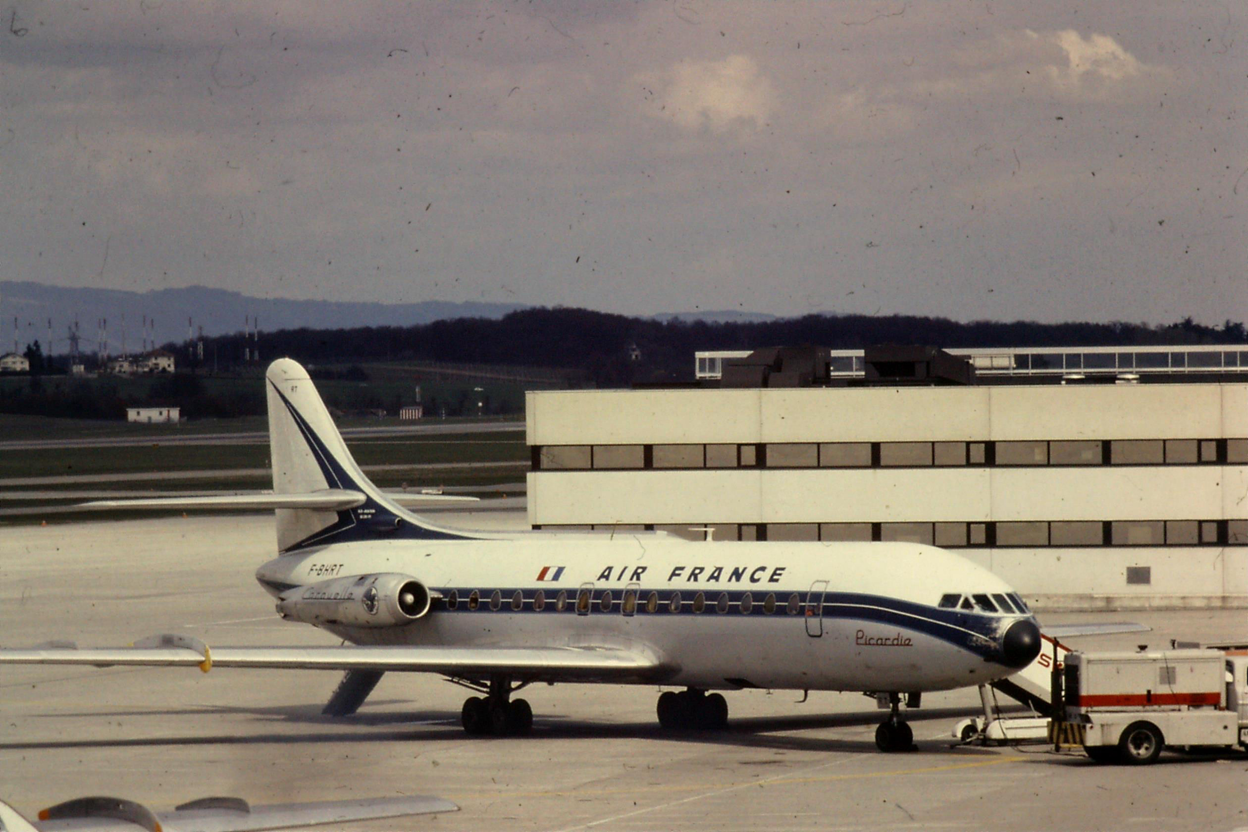 F-BHRT SE210 Caravelle III Air France
