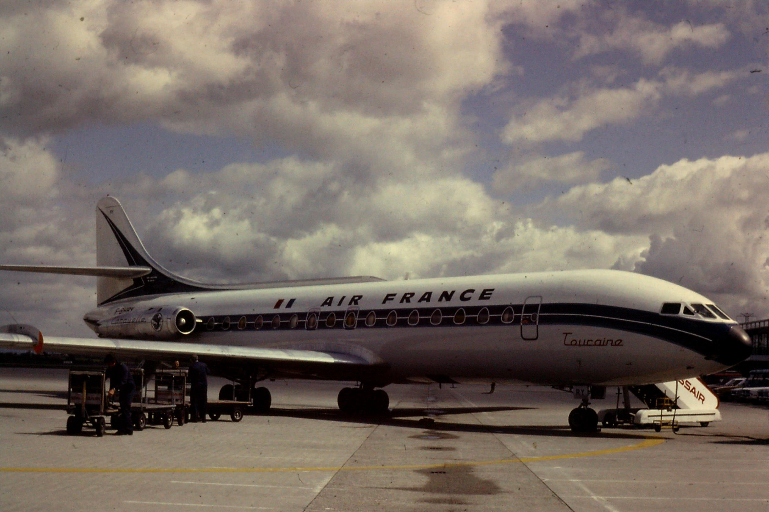 F-BHRY SE210 Caravelle Air France