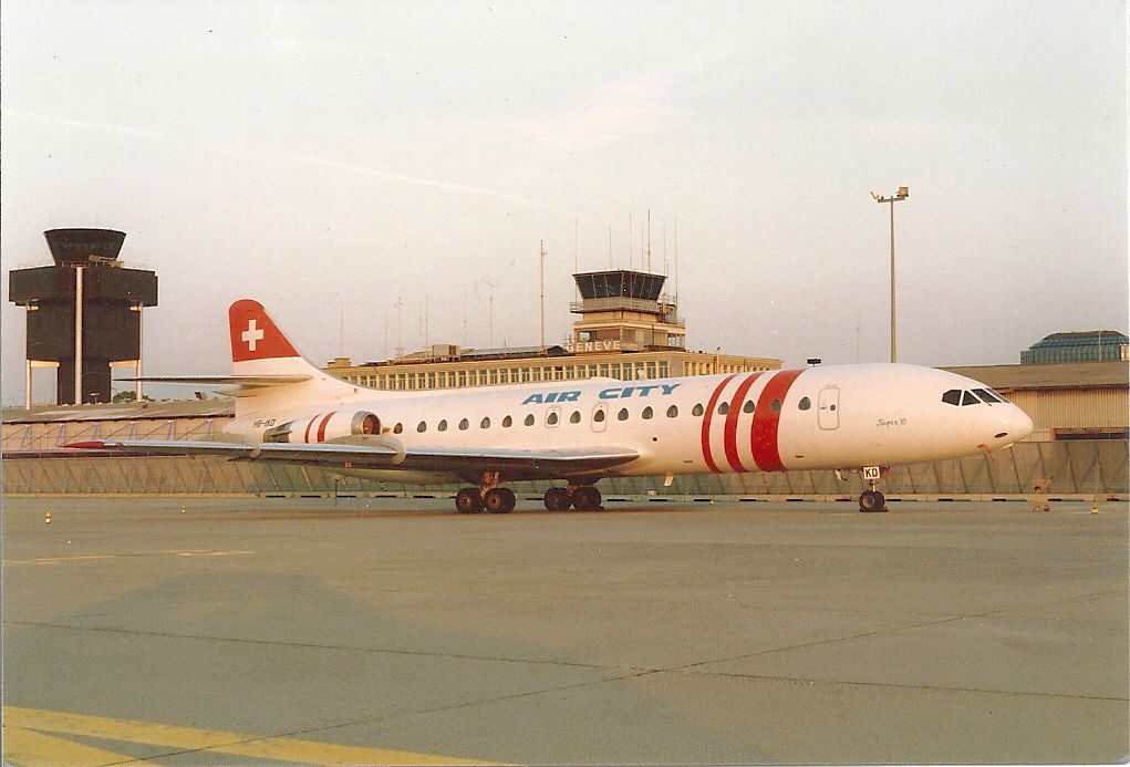 HB-IKD Caravelle 10B3 Air City