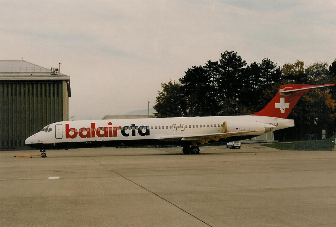 Mc Donnell Douglas MD-87 Balair CTA