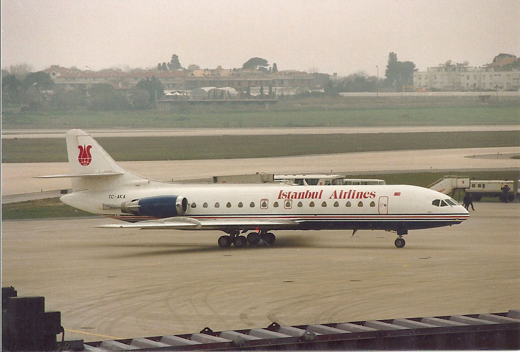 TC-AKA Caravelle 10R Istanbul Airlines